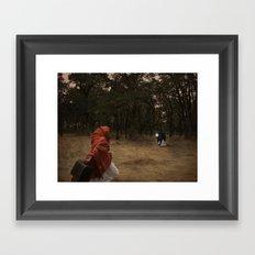 Flee Framed Art Print