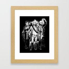 President Bad Ass Framed Art Print
