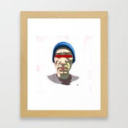 Should Not Framed Art Print