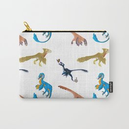 Repeating Dino Pattern Carry-All Pouch