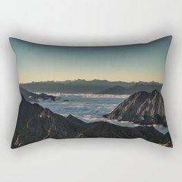 Tumultuous Waters Rectangular Pillow