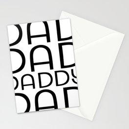 Dad Dad Daddy Stationery Cards