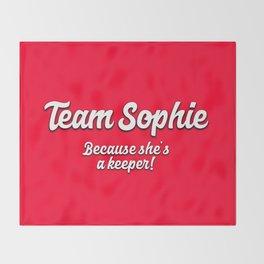 Team Sophie Throw Blanket