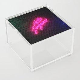 Hello Gorgeous - Neon Sign Acrylic Box