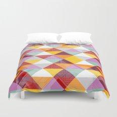 Triagles warm Duvet Cover
