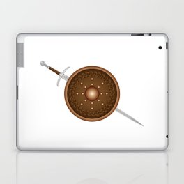 Claymore and Shield Laptop & iPad Skin