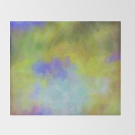 Rainbow Colors Throw Blanket