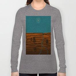 Where the Sky Splits the Land Long Sleeve T-shirt