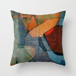 Olympic Boxing Throw Pillow
