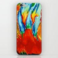 gemini iPhone & iPod Skins featuring Gemini by SteeleCat