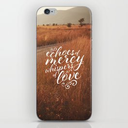 BLESSED ASSURANCE iPhone Skin