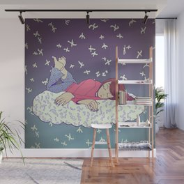 Hibernation Cloud Wall Mural