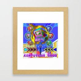 Komputron 5000 Framed Art Print