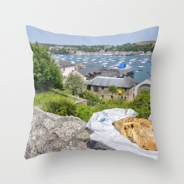 Falmouth Pasty Throw Pillow