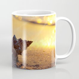 Golden Summer on the Beach Coffee Mug