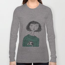 Coffee and Sweaters Long Sleeve T-shirt