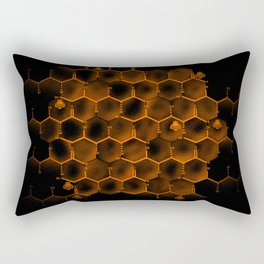 Glucose Hive Rectangular Pillow