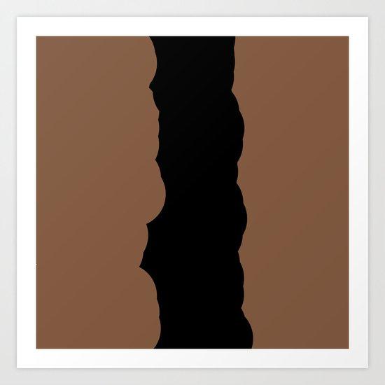 Chocolate Fudge Art Print