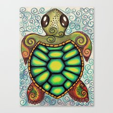 Baby Sea Turtle Canvas Print