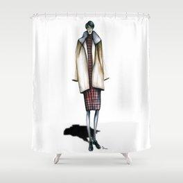 Otto's Sylvia  Shower Curtain