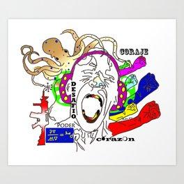 Poder! Art Print
