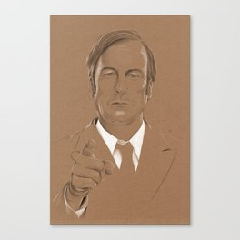 A Criminal Lawyer Canvas Print