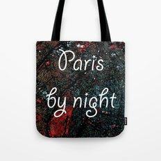 Paris by night colors couette urban fashion culture Jacob's 1968 Paris Agency Tote Bag