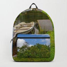 Padarn Lake Bridge Llanberis Backpack