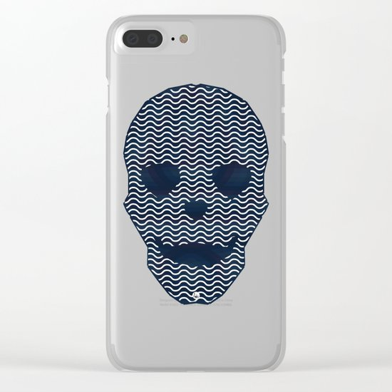 Dead Sea Clear iPhone Case