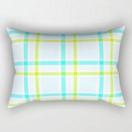 Summery Plaid II Rectangular Pillow