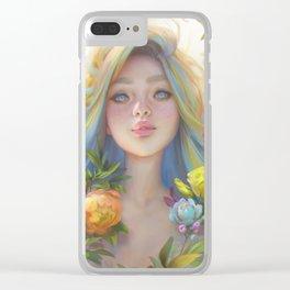 clip studio paint portrait Clear iPhone Case