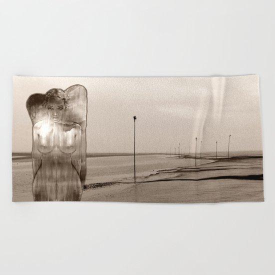 NORTHSEA ANGEL Beach Towel