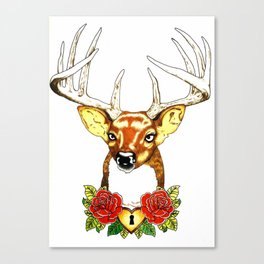 Oh deer. Canvas Print