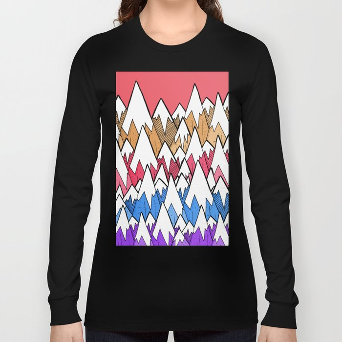Mountains of colour Long Sleeve T-shirt