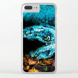 bark-ing shy cuttlefish Clear iPhone Case