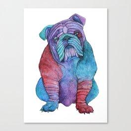 Ben's Bulldog Canvas Print