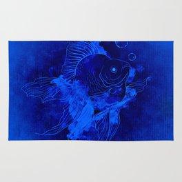 Fish Illustration (Goldfish) Rug