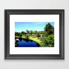 Torrens River Framed Art Print