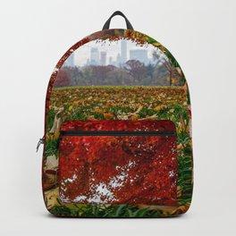NYC Fall Leaves Backpack