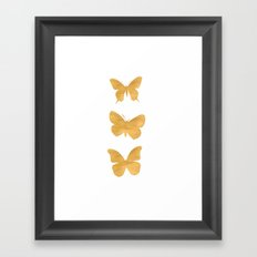 A Study in Flight Framed Art Print
