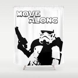 Move Along Shower Curtain
