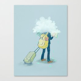 Mr. Confused Canvas Print