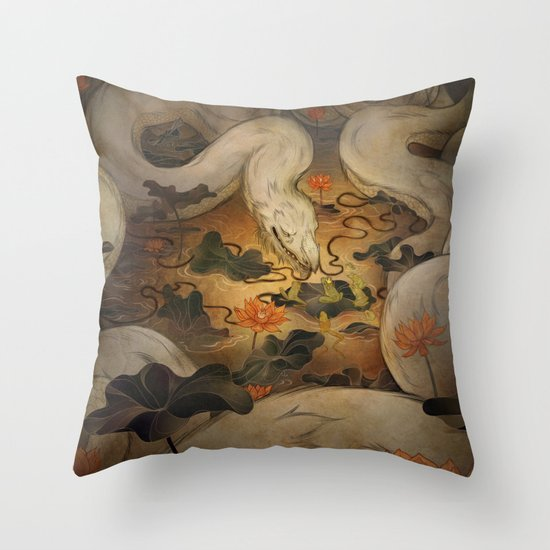 The Kings Request Throw Pillow