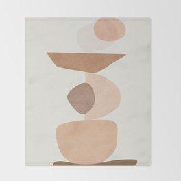 Balancing Elements II Throw Blanket