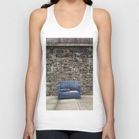 sofa Tank Tops featuring sofa free by danielle marie