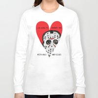 dramatical murder Long Sleeve T-shirts featuring Murder Love by JARHUMOR