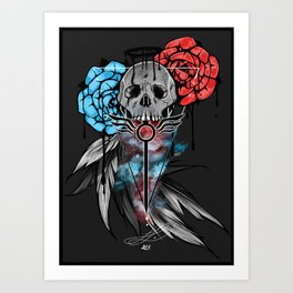 Devil May Cry Design Art Print