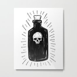 The Devil's Drink Metal Print