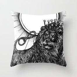 Strength Tarot Throw Pillow