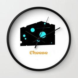 CHEESE Wall Clock